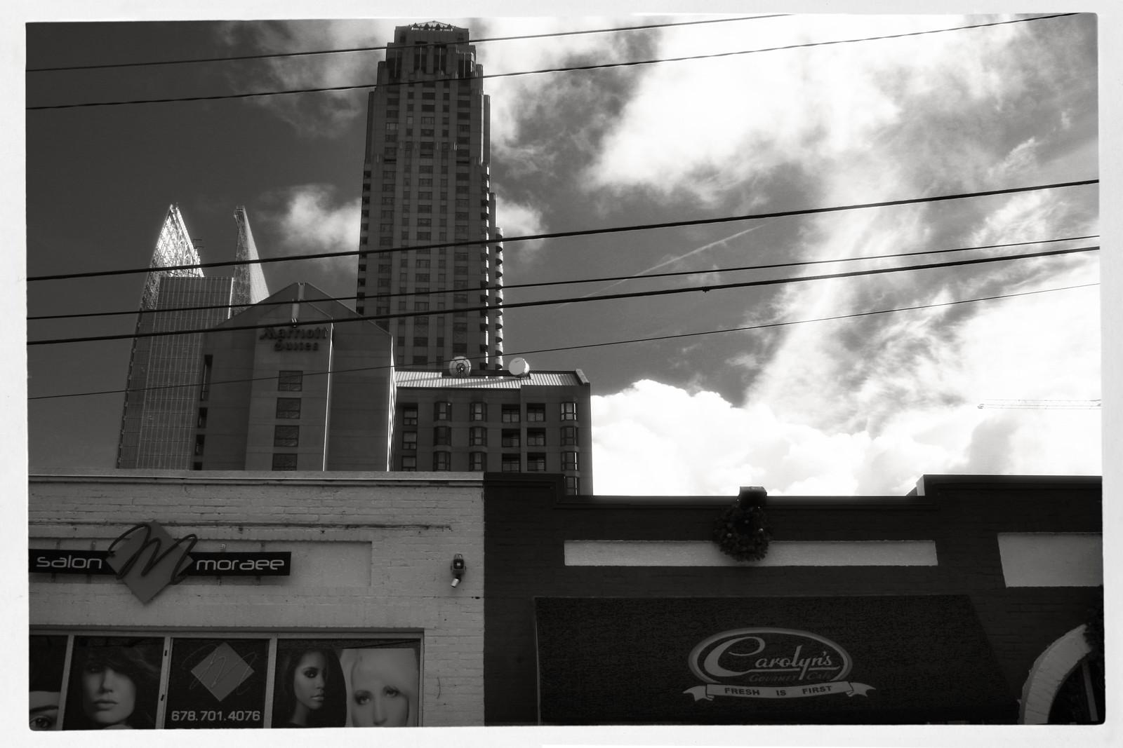 Sunday Morning in December, Midtown, Atlanta
