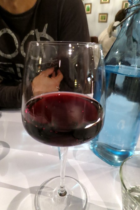Glass of Angullong Cabernet Merlot