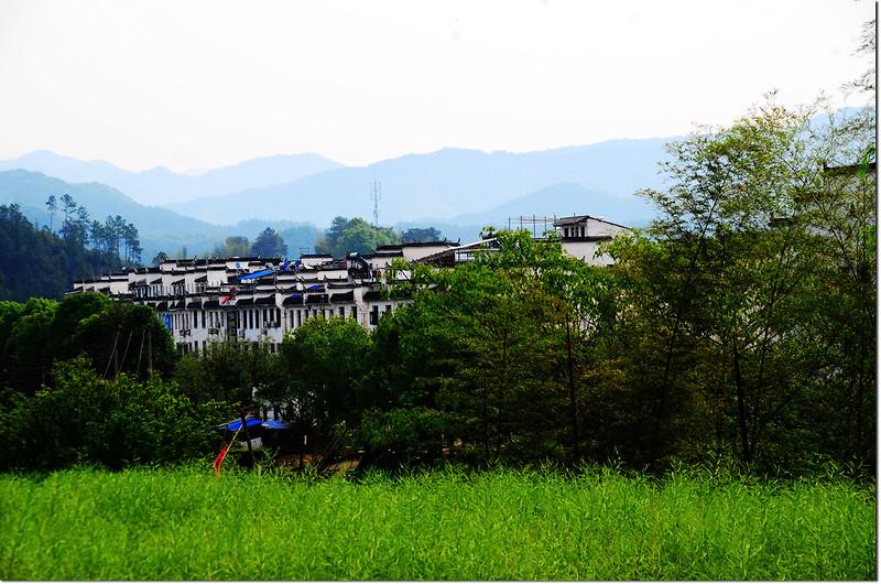 徽式建築與山景 1