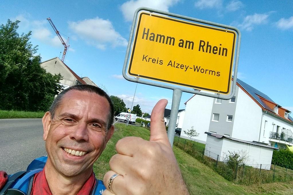 Hamm, Frank Hamm. Am Rhein.