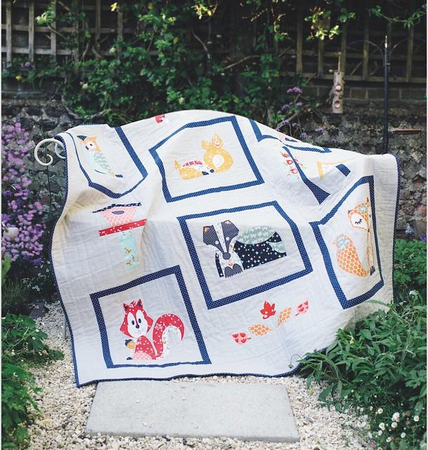 Woodland Friends Quilt (Popular Patchwork Oct16)
