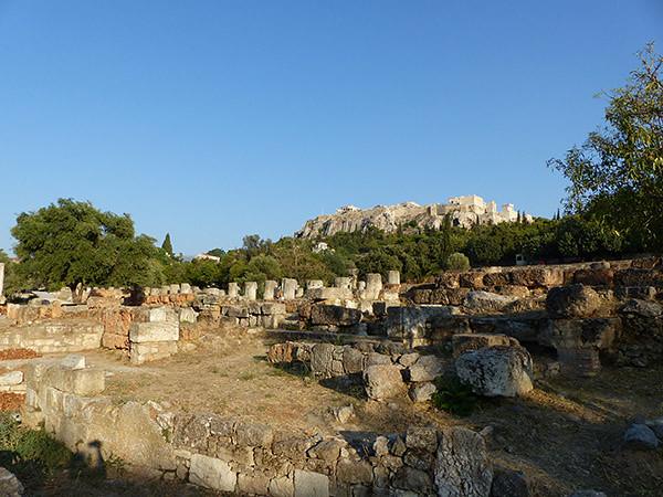 agora antique et acropole