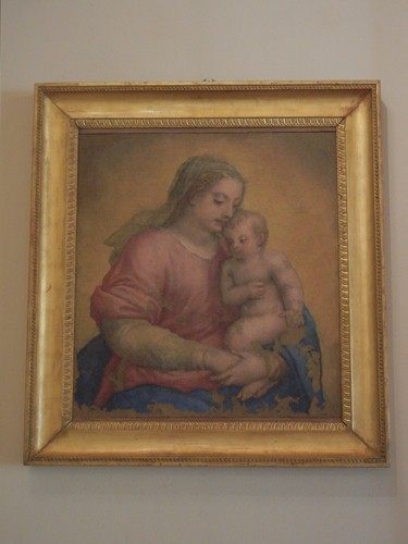 DSCN3833 _ Madonna col Bambino, santa Lucia e san Matteo, Sebastiano Filippi detto Bastianino