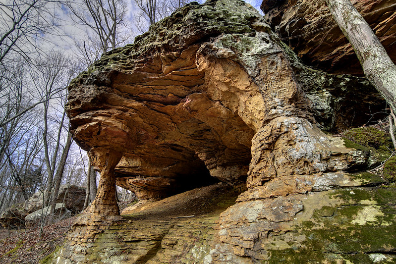Stone Cove Arch, Putnam Co, TN