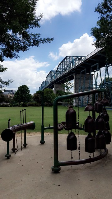 Metal Sculpture, Coolidge Park, Chattanooga, TN