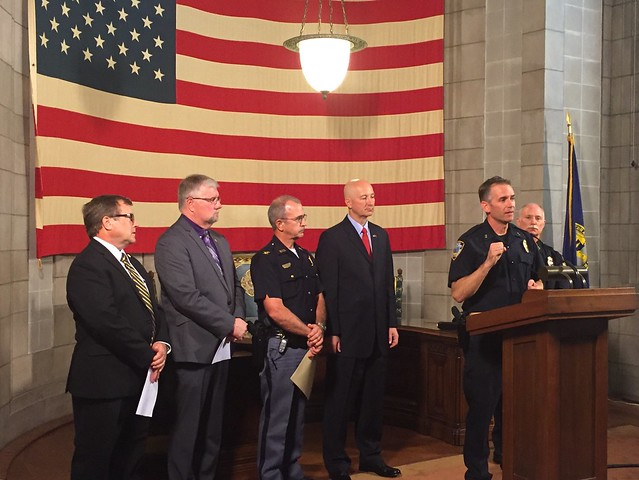 Gov. Ricketts, Law Enforcement Agencies Highlight Training Grant - 8/22/2016