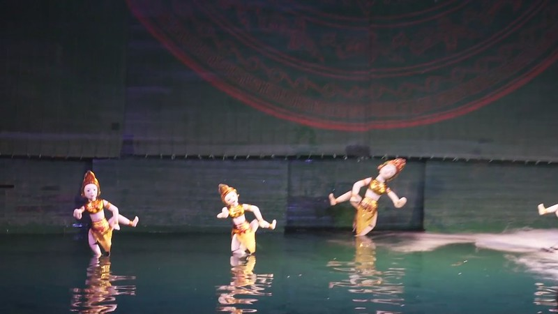 Hanoi Water Puppet Theater 12