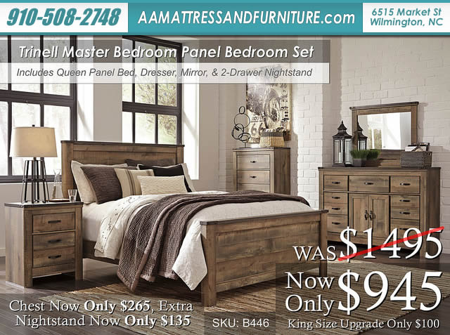 Trinell Master Bed W