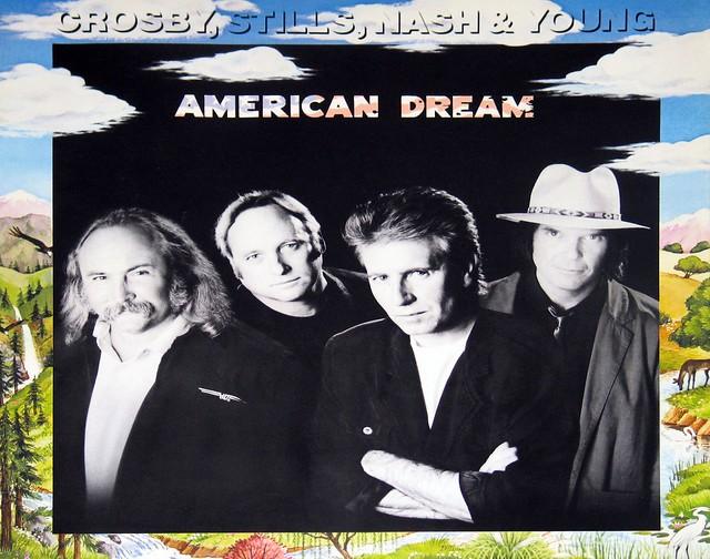 "Crosby, Stills, Nash and Young - American Dream 12"" vinyl LP"