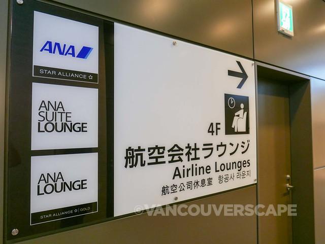 ANA Premium Economy-Haneda Lounge-8