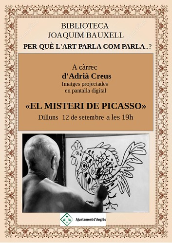 12 de setembre 2016.El misteri de Picasso