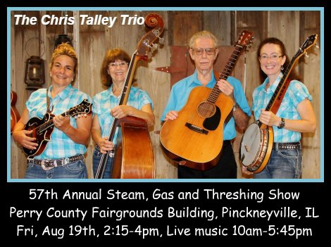 The Chris Talley Trio 8-19-16
