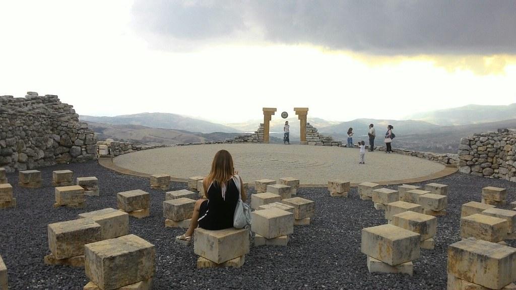 Ammirando il Teatro Andomeda