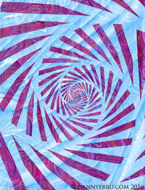 Ebru Art Spiral