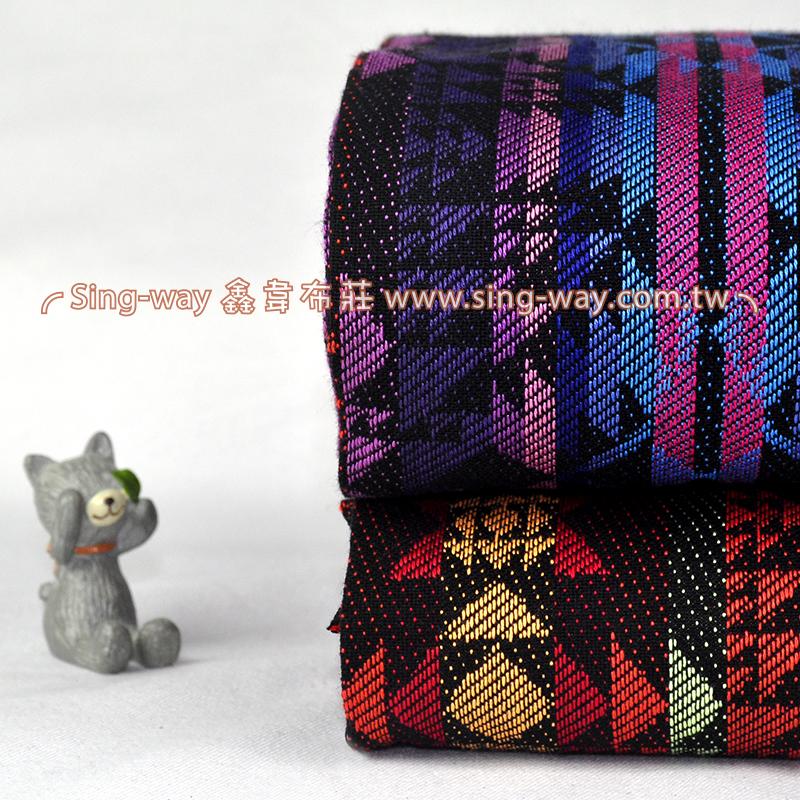 幾何 原住民 雲南麗江民族 裝飾服裝布料 CE890042