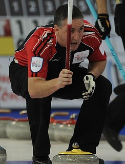 Edmonton Ab.Mar6,2013.Tim Hortons Brier.Ontario third Wayne Middaugh.CCA/michael burns photo | by seasonofchampions