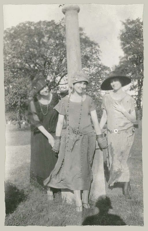 Three women at the park