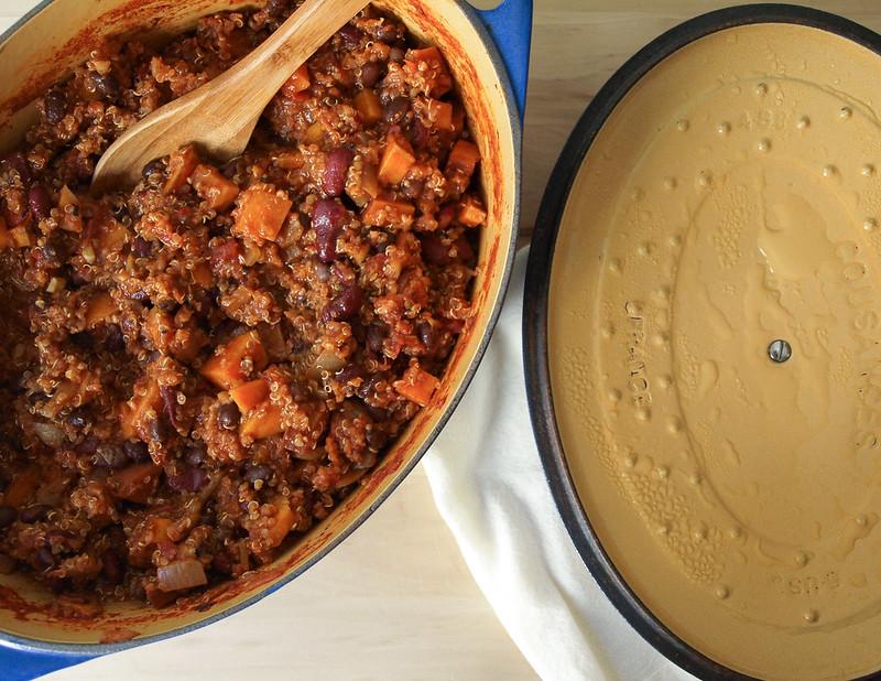 Sweet Potato & Quinoa Chili