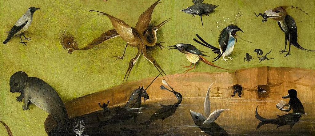 Details From Bosch S Garden Of Earthly Delights Ca 1500