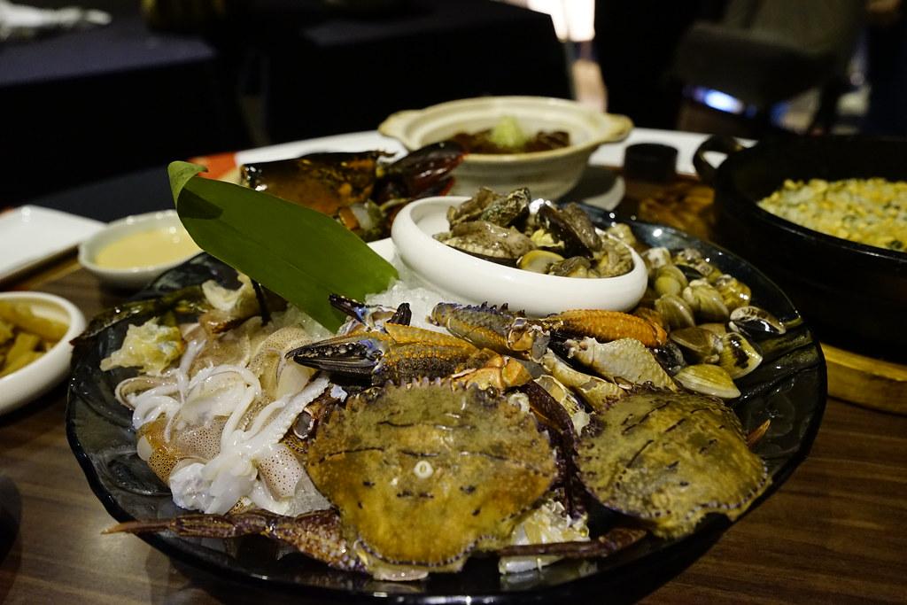 印月蒸海鮮套餐