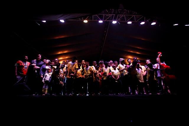 Con ritmo garífuna cierra el Festival del Centro Histórico