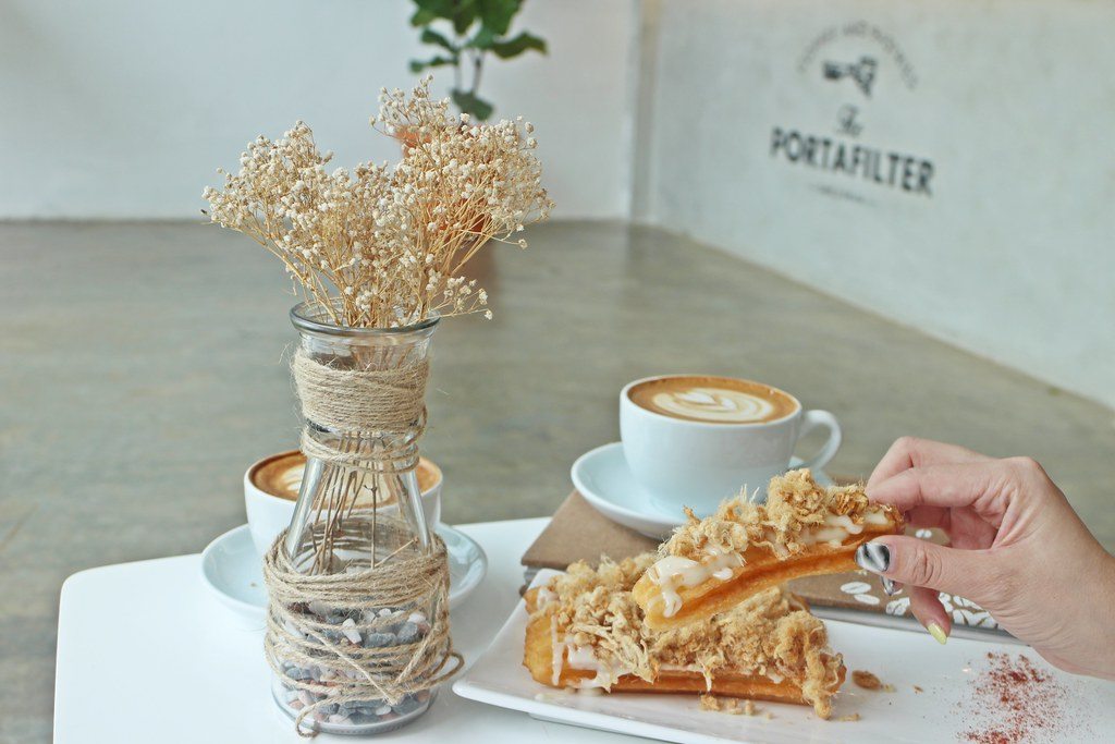 Portafilter by Dare2Dream around Taman Sutera: Churros with Chicken Floss