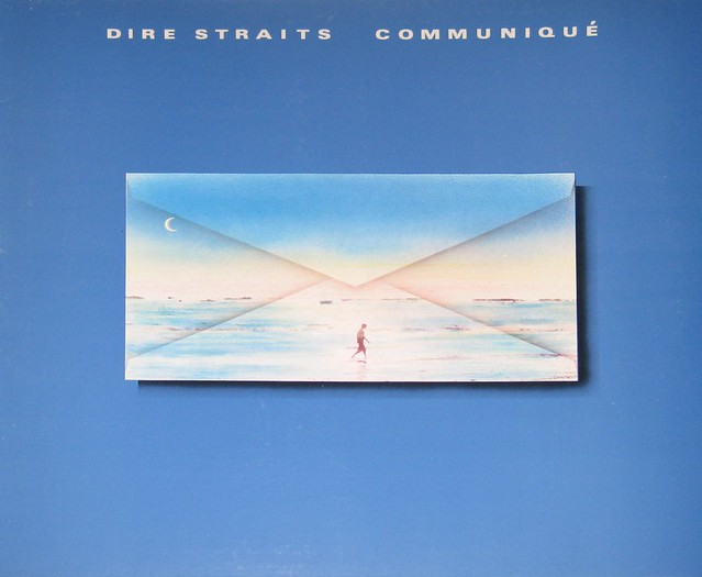 "DIRE STRAITS COMMUNIQUE West Germany 12"" vinyl LP"