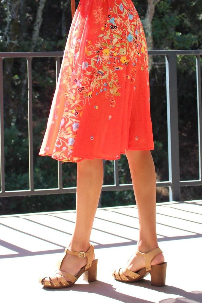 Vintage Red Dress 7