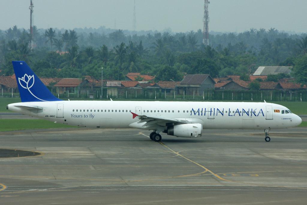 4R-MRC Mihin Lanka A321-231 Jakarta 21/11/2012