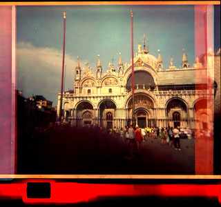 St. Mark's Basilica (with finger!)