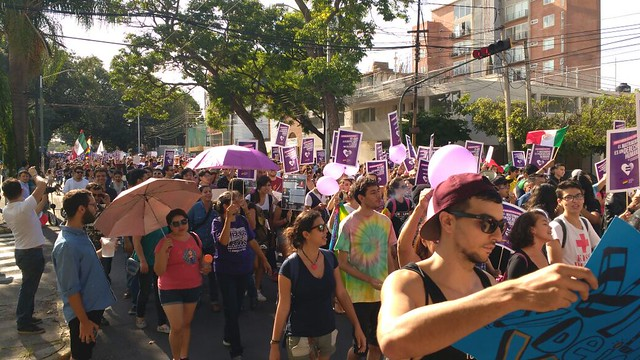 Marcha por los derechos de personas LGTB