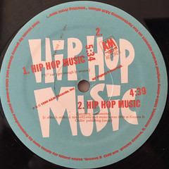 GROOVE B CHILL:HIP HOP MUSIC(LABEL SIDE-B)