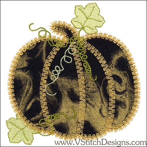 Fall Medley Applique Machine Embroidery Designs 16 Design