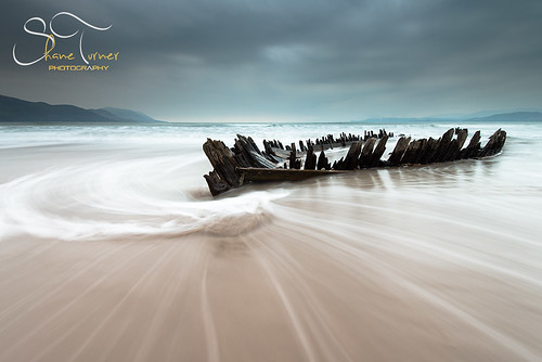 Sunbeam wreck Rossbeigh Beach Co. Kerry  | Shane Turner Photography Tralee Co. Kerry