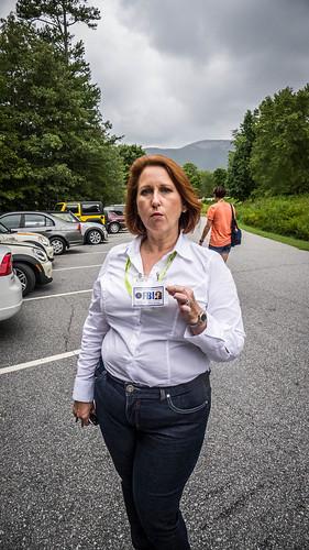 Dana Scully lookalike