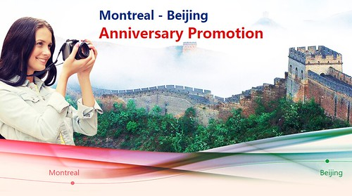 AirChina Montreal-Beijing Sale