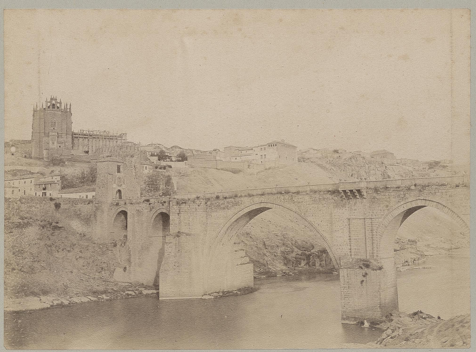 Puente de San Martín en 1886 © Archives départementales de l'Aude
