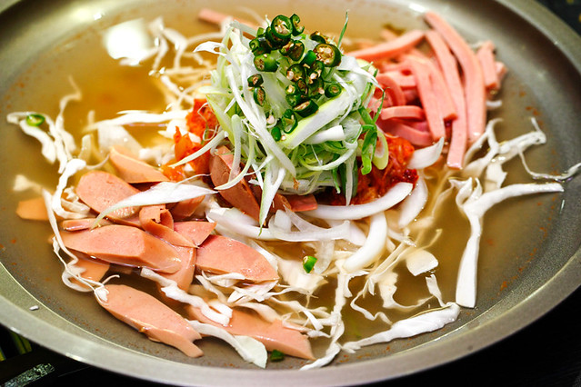 Shinmapo Korean Military Soup