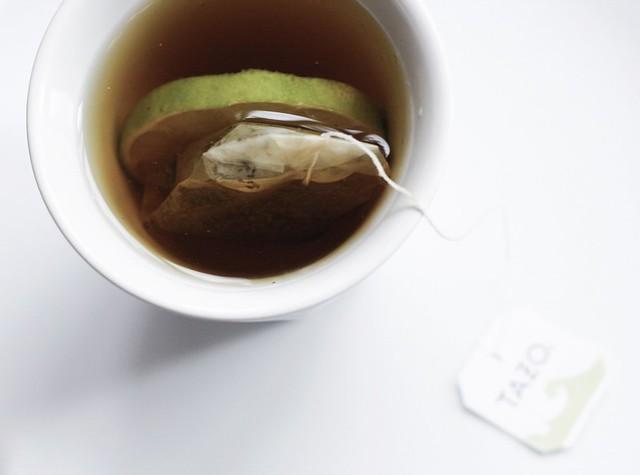 Tazo Zen tea with lime