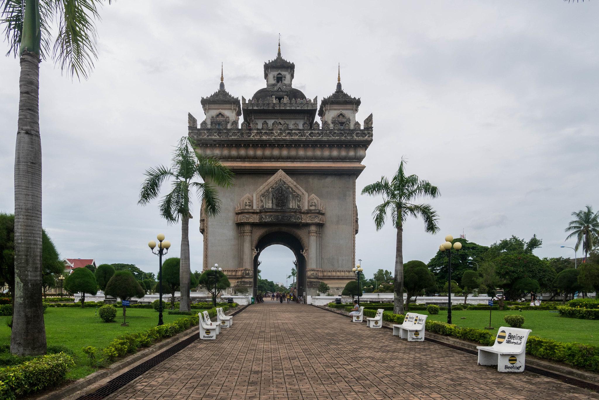 Arc de triomphe Lao style