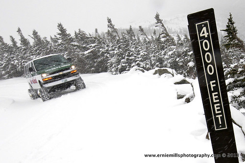 SnowCoach at 4,000ft | by Mt.Washington Auto Road