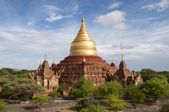 Dhammayazika Pagoda - Bagan - Myanmar