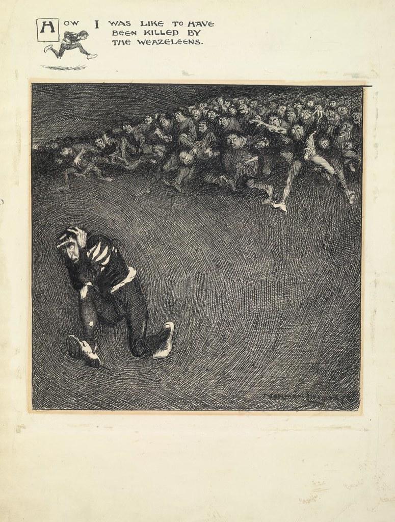 Norman Lindsay - My Ancestors, 1904