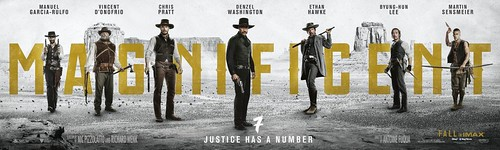 The Magnificent Seven - 2016 - Poster 1