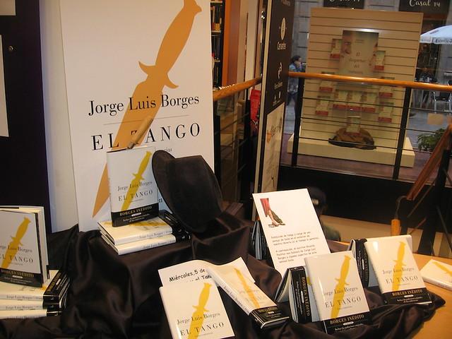 Nuestro rincón dedicado al tango y a Borges.