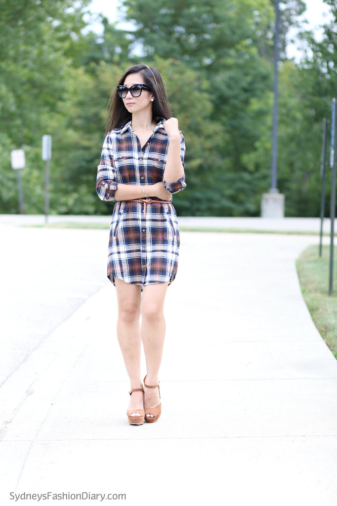 PlaidShirtDress_SydneysFashionDiary