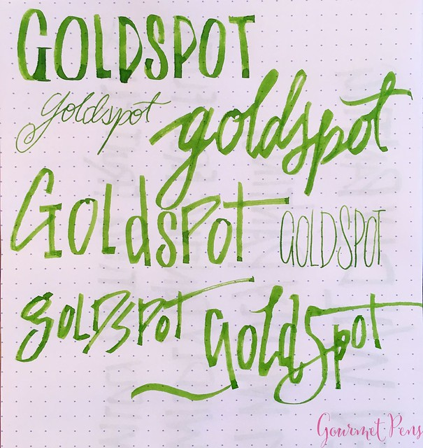 Review Pilot Parallel Modified Naifu Folded Nib @GoldspotPens @PilotPenUSA 19