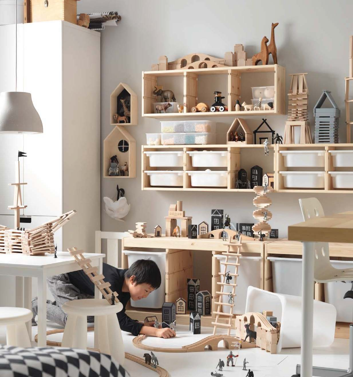 IKEA only - can be so cool when done right