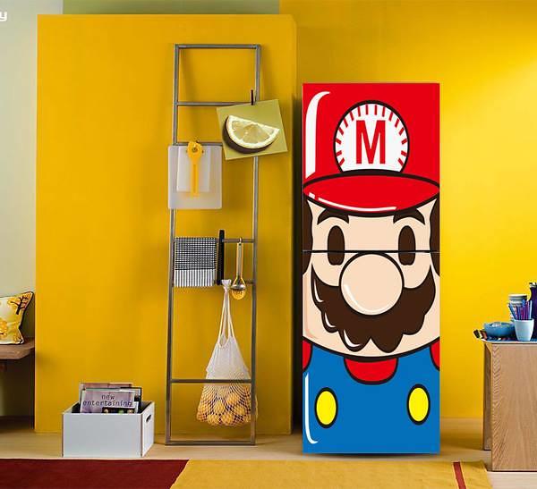淘寶看到的冰箱貼:超級瑪莉歐Super Mario
