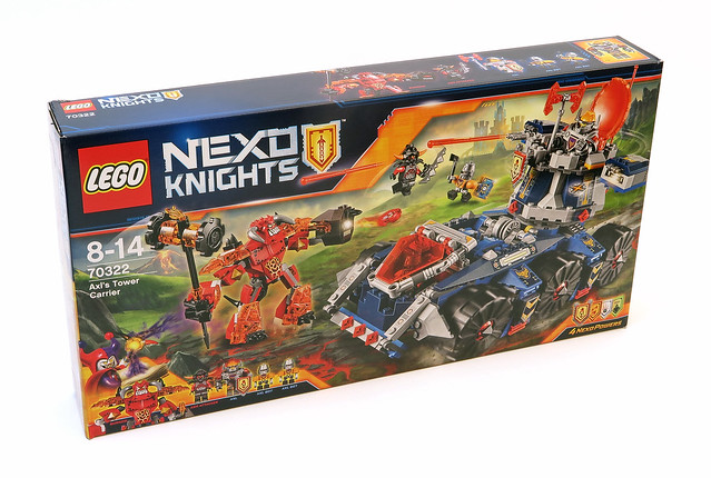 LEGO Nexo Knights 70322 Axl's Tower Carrier review